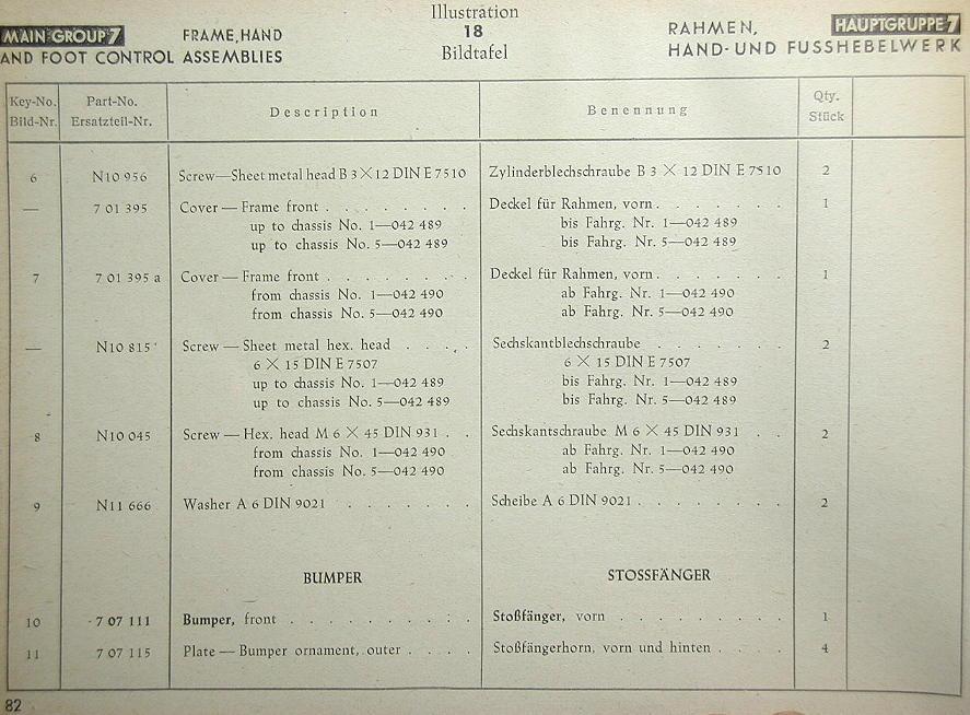 ZAR Werks 1945 VW Parts Book