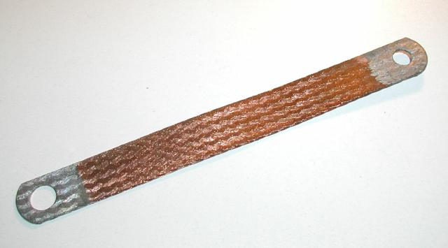 Custom Standard Braided Ground Straps: Vicksburg Engineering